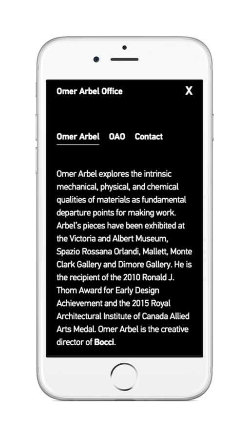 works omer arbel. The OAO Website Is Stripped Down To Core, Relying On Simplicity Of Concise Language, Imagery And An Explorative User Experience Communicate Works Omer Arbel