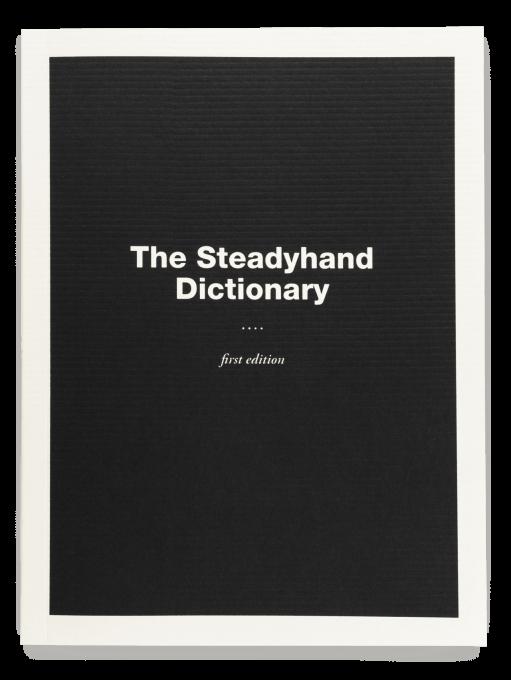 Steadyhand burnkit for Forward dictionary